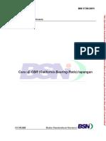 Sni 1738-2011 Cara Uji Cbr Lapangan