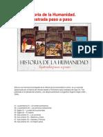 Historia de La Humanidad Ilustrada Paso a Paso