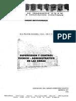 Supervisión Técnica Control Obras