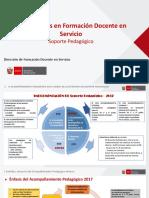 2. Presentación a Docentes y Directivos