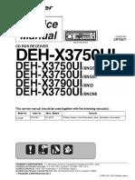 Deh x3750ui