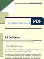 1 Ecología definición
