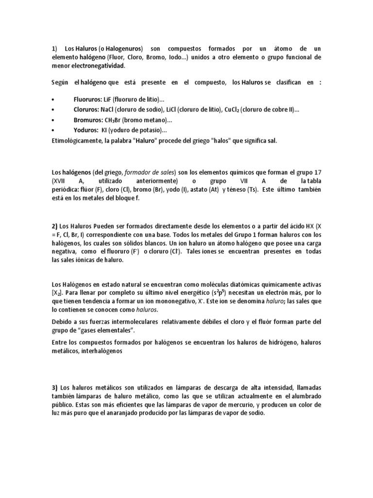 Haluros and halogenos urtaz Choice Image