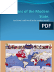 The Origins of the Modern State