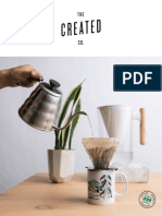Created Co. Custom Catalog
