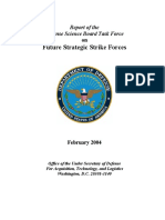 Future Strategic Strike Forces - Defense Science Board Task Force 2004