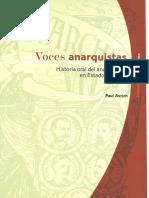 Avrich, Paul - Voces Anarquistas. Historia Oral Del Anarquismo en Estados Unidos
