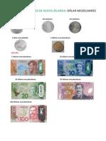 Monedas y Billetes de Nueva Zelanda