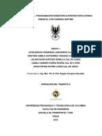 Informe No. 3 – Programación Semafórica Av. Oriental Con Cra