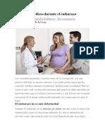 Controles médicos durante el embarazo