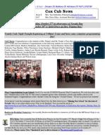 Cox News Volume 7 Issue 8