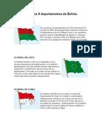 Banderas y Escudos de Los 9 Departamentos de Bolivia