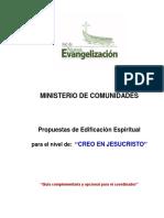 54 Edificacion Creo en Jesucristo Coordinador