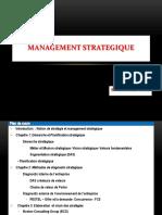 Management Stratégique Cours2014