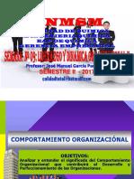 2017 II - Gerencia Empresarial - Clase Nº 09 - Comportamiento Organizacional