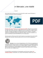 Les Projections Et Mercator.cours Master.2017