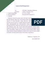 Laporan Hasil Pengamatan (Sisi's File)