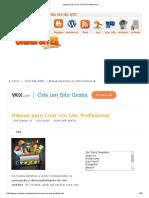 Manual Para Criar Um Site Profissional