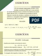 Exercícios Máquina CC