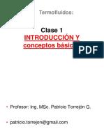 CLASE 1 mecanica de fluidos