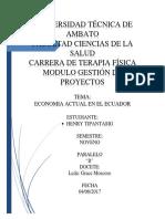 Situacion Econimica Del País