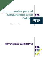 Presentación Para Conferencia No. 2 Herramientas Cuantitativas TQM