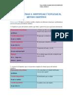 A07065142-MII-U2- Actividad 2. Identificar y Explicar El Método Científico (1)