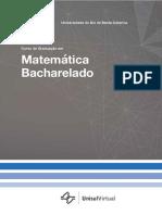 matemática bacharelado