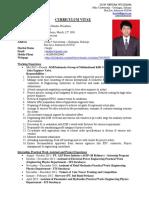 Curriculum Vitae - Dion Hendra Wisudana