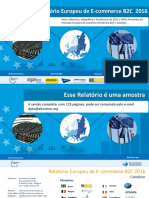Brazil European b2c Ecommerce Report 2016 Portuguese