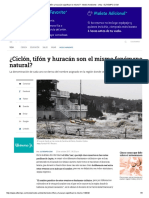 ¿Ciclón, Tifón o Huracán- ELTIEMPO