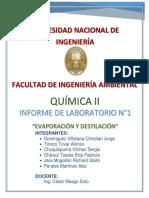 Laboratorio 1 Quimica- II Fia