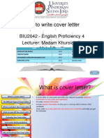 EP4 - Tips to Write Cover Letter
