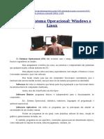 Noções de Sistema Operacional- Windows e Linux