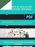 1.6 Campos de Aplicación de La Ing. Industrial