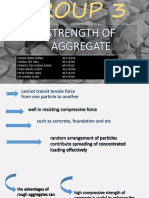 Group3 Strength of Aggregate