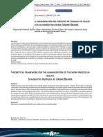 Marco Teorico Para La Humanizacon Del Proceso de Trabajo en Salud