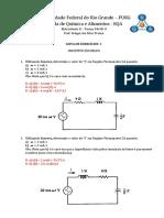 Eletricidade II - Circuitos Fasoriais