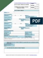 F-7-9-5 Formato plan de trabajo pasantia.doc
