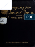 Materials for Permanent Painting 1911
