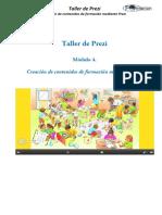 Creación de Contenidos de Formación Mediante Prezi - Módulo 4