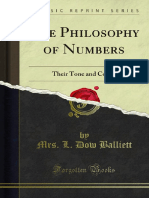 The Philosophy of Numbers