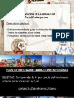 Ciudad Contemporánea Clase 1