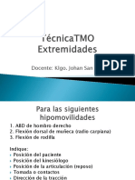 7.2 OMT Extremidades