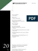 Cuaderno 20 Universidad de Palermo La Ferla Haro Reyes