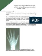 Metodo de maduración ósea de las vertebras cervicales.docx
