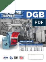 Centrifugal Blower Dgb Lq-eb4a1-2768 2221
