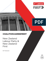 Labour and New Zealand First Coalition Agreement