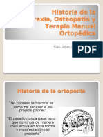 1. Historia de la Quiropraxia, ostoepatía y T.M.O