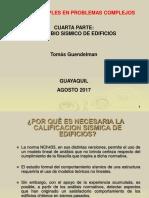 Charla 4 - Perfil Bio Sismico de Edificios - Guayaquil - Agosto 2017
